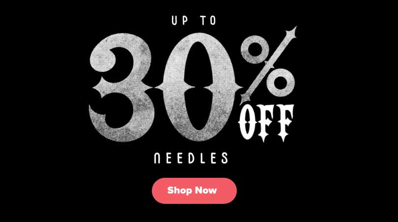 Black Friday Sale Needles