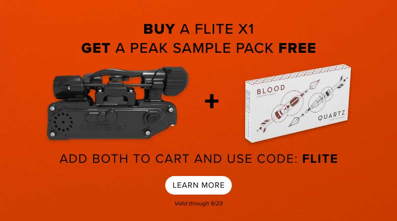 Buy a Flite X1 get Peak needles free use code FLITE